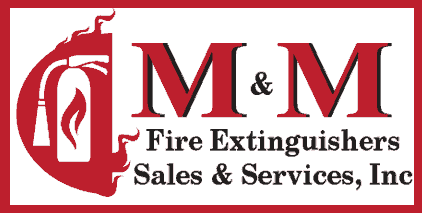 M&M Fire Extinguishers Sales & Services, Inc. Logo